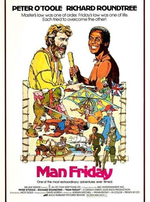 """Прожекция на филма """"Петкан"""" (""""Man Friday"""")"""