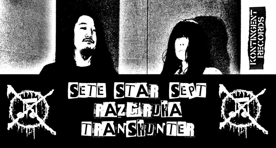 DIY LIVE: Sete Star Sept [JP], Transhunter [MK] и Razgruha