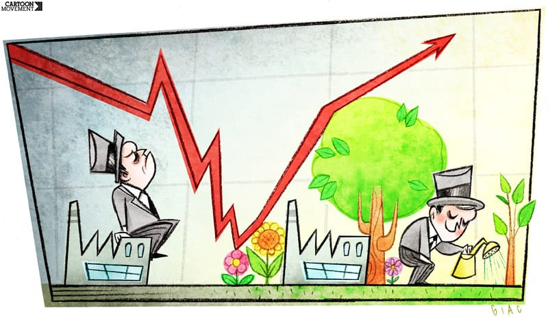 Икономически алтернативи: Зелена икономика?