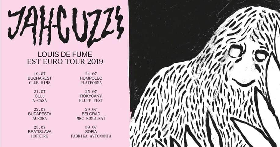 Jah Cuzzi (dub/noise, RO) & Cogwheel Crack на 30.07 във Фабриката