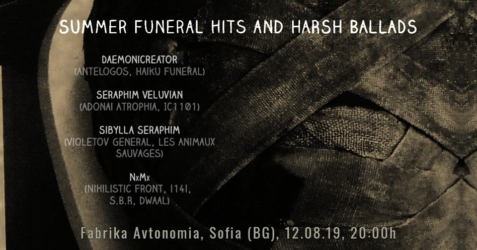 Summer Funeral Hits and Harsh Ballads по понеделнишки (12.08)